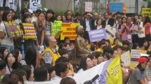 7/23/14 Comfort Women Demonstration in Seoul