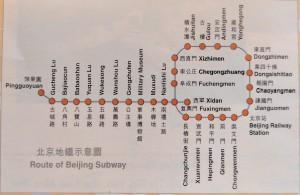 Beijing Subway System - 1997
